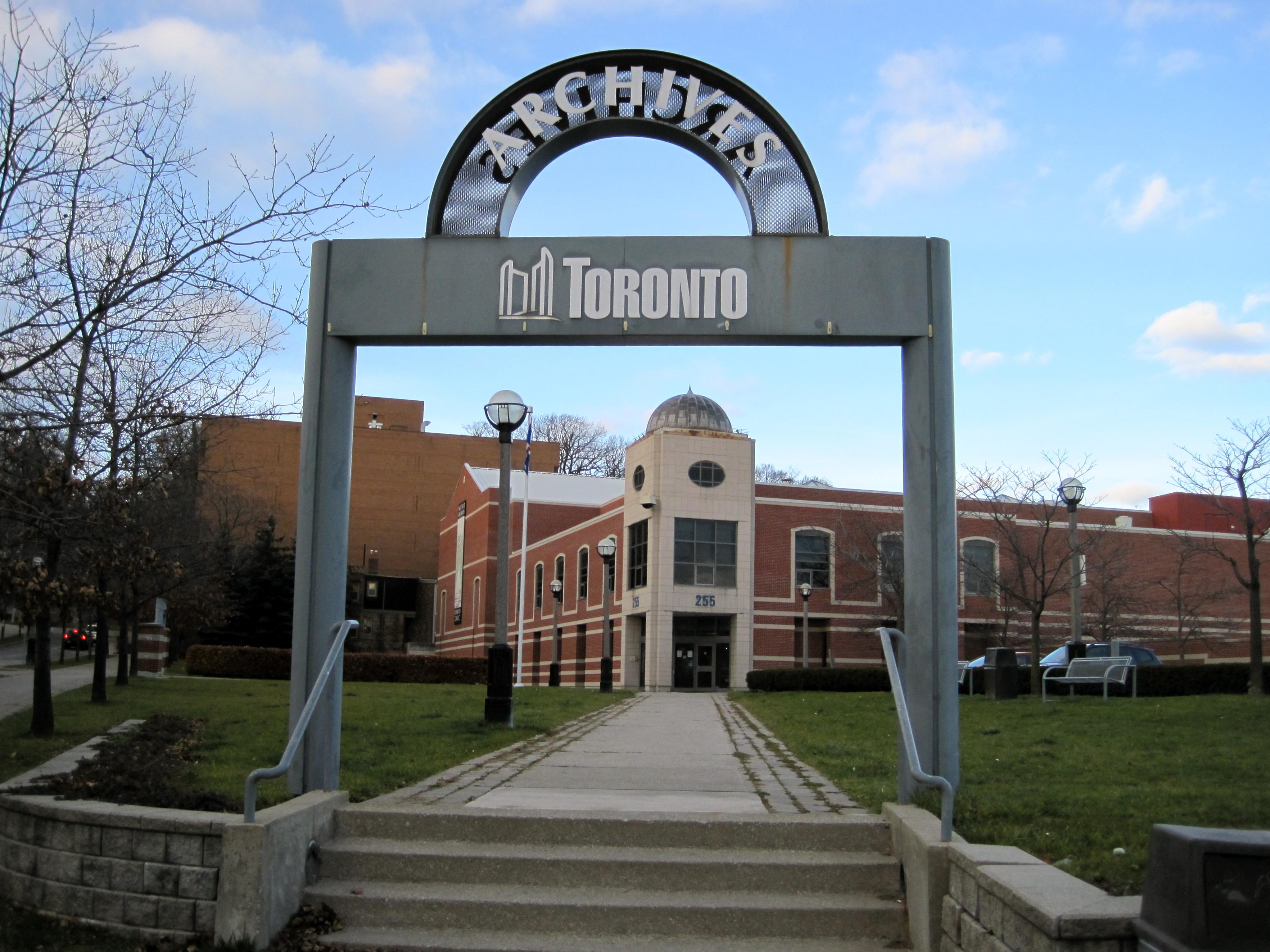 Toronto Archives | Open Book: Ontario